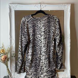 Zara Dresses - Zara Zebra MIdi Fitted Dress